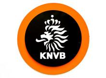 ZEIST - Logo van de KNVB. ANP KOEN VAN WEEL